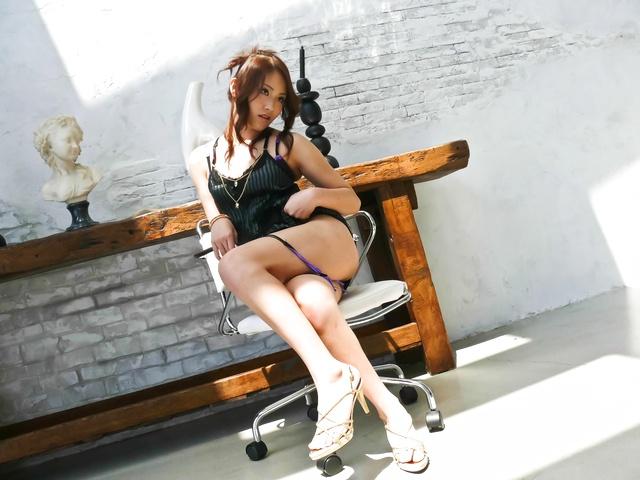 Iori Mizuki - Iori Midukis tight cunt slammed by a stiff man-meat - Picture 7