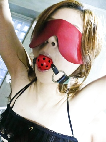 Rika Aina - Rika Aina has lots of fun with her new toys and a horny friend - Picture 1
