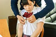 Yui Kasugano - Yui Kasugano Japanese hardcore sex with her teacher  - Picture 1