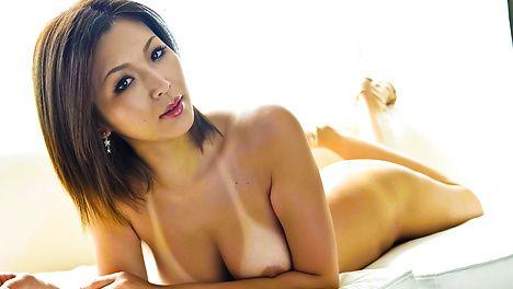 Mai Kuroki riding a hard and throbbing cocks like crazy