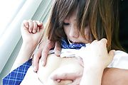 Miku Airi - A japan blow job from Miku Airi earns her a hard fuck - Picture 4