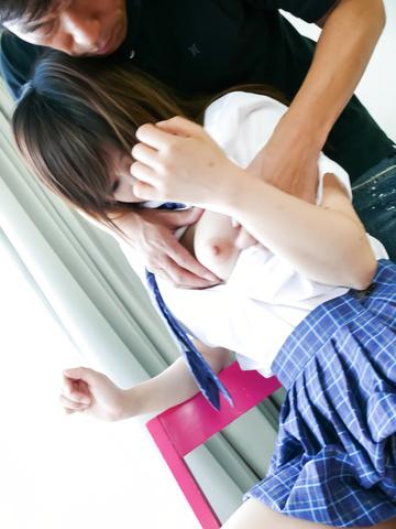 Miku Airi - A japan blow job from Miku Airi earns her a hard fuck - Picture 1