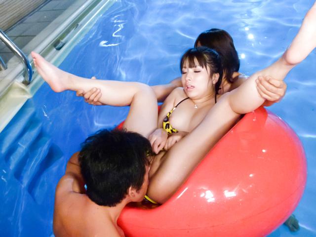 Hinata Tachibana - 阳平橘捣碎努力在亚洲口交视频 - 图片 12