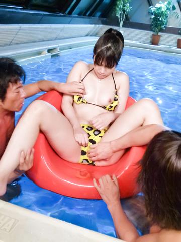 Hinata Tachibana - 阳平橘捣碎努力在亚洲口交视频 - 图片 2
