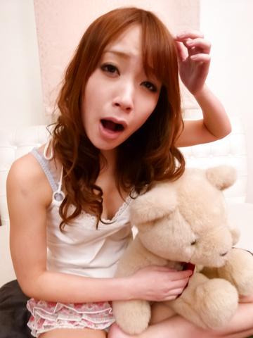 Ayaka Fujikita - 绫香 Fujikita ' s 年轻的亚洲阴户 cums 从振动 - 图片 3