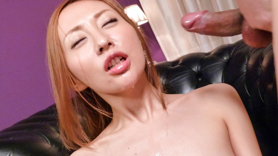 Phim Sex Erena Aihara gets  japanese bukkake facials after toy sex