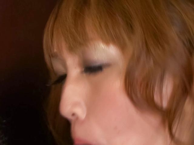 Yuki Mizuho - 吸两个坚硬的雪瑞穗和悸动公鸡和双渗透 - 图片 8