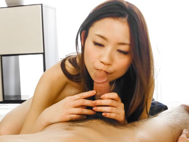 Mayuka Akimoto - Naughty fuck show withan Asian amateur beauty - Picture 8