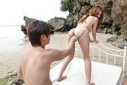 Nami Itoshino - Japane blowjob in outdoor alongNami Itoshino - Picture 1