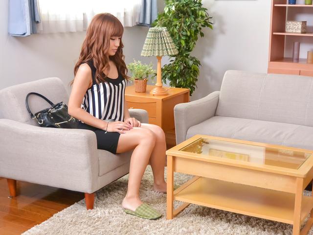 安城アンナ - 淫乱女教師の家庭訪問フェラ 安城アンナ - Picture 1