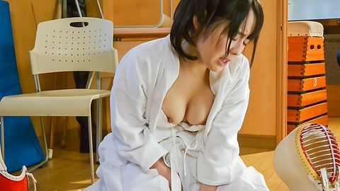 Asian amateur video with horny Ruka Kanae