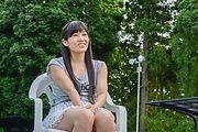 Yui Kasugano - Yui Kasugano tries Japanese dildo in outdoor  - Picture 10
