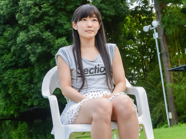 Yui Kasugano - Yui Kasugano tries Japanese dildo in outdoor  - Picture 8