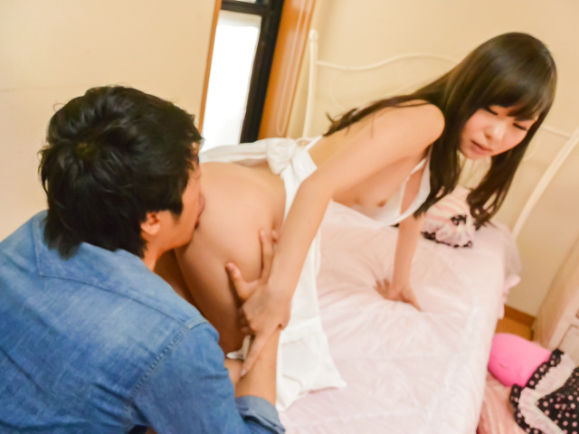 Mayu Kawai - Brunette housewife enjoys full porn adventure - Picture 11