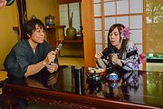 Rino Sakuragi - Rough Japanese blowjob and sex with Rino Sakuragi  - Picture 1