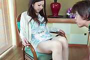 Miu Kimura - Asian girls blowjob scenes with naughty Miu Kimura - Picture 1