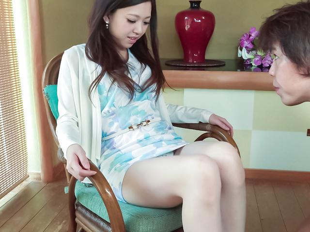 木村美羽 - 美巨乳木村美羽~お掃除フェラ~ - Picture 1
