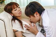 Hina Misaki - Hina Misaki gets drilled after giving a great asian blow job - Picture 5