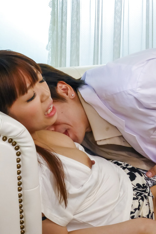 Hina Misaki - Hina Misaki gets drilled after giving a great asian blow job - Picture 7