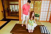 Aya Saito - 松浦亚弥齐藤获取迷住了坚强的迪克 - 图片 1