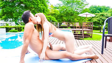 Japanese creampie in outdoor with Iroha Suzumura  asian girls, asian pussy