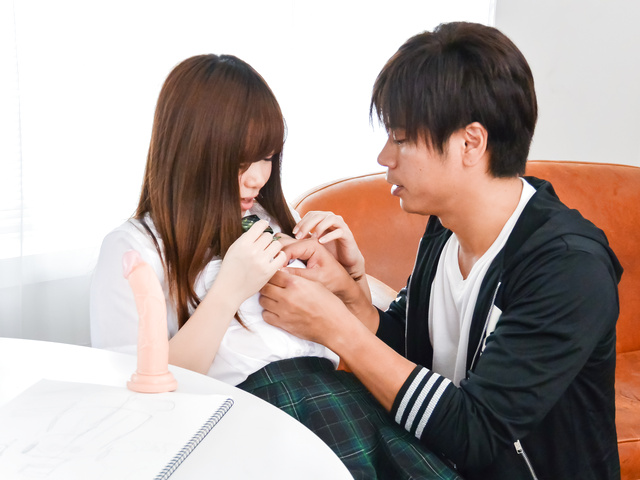 Chihiro Nishikawa - 未開発な小マンコに生ハメ~西川ちひろ - Picture 12