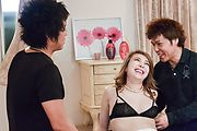 Rion Ichijo - Amazing Japanese girl handjob with Rion Ichijo - Picture 1