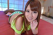Hitomi Kitagawa - BustyHitomi Kitagawastimulates a big dong - Picture 2