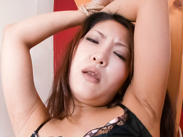 Saya - Saya with hot tits is touched over thong - Picture 1