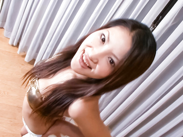 Saya - Saya with hot tits is touched over thong - Picture 9