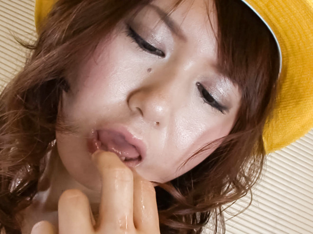 Naho Kojima - Cute Asian Teen Naho Kojima gets Toyed and Creampied - Picture 9