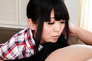 Riisa Minami - Riisa 南人愉悦,温暖亚洲口交 - 图片 2