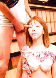 Minami Kitagawa Asian is fucked with dildos and sucked dicks
