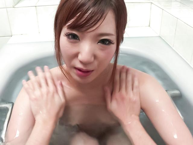 Riko Satsuki - 咲月りこ~ご奉仕強制口内発射~ - Picture 5