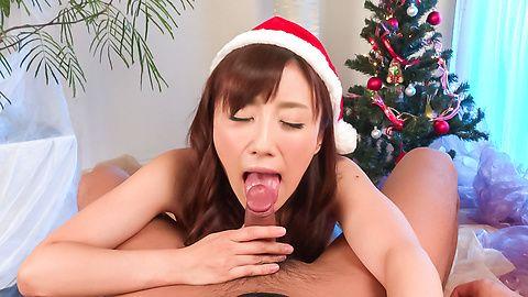 Amateur Japanese blowjob by hot Mika Hatori
