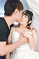 Ruka Kanae - Sexy brunette gets fucked before her wedding  - Picture 2