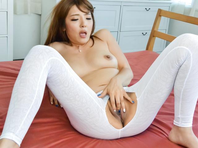 Chieri Matsunaga - Hottie provides Japanese blowjob before hard sex - Picture 7