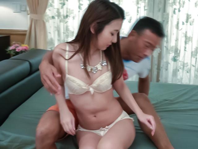 Maya Kato - Maya Kato, amateur girl, provides Japanese blowjob - Picture 4