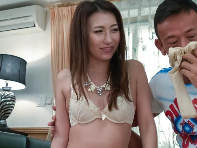 Maya Kato - Maya Kato, amateur girl, provides Japanese blowjob - Picture 6
