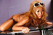 Rui Akiyama - Rui Akiyama enjoys a big asian dildo up her twat - Picture 9