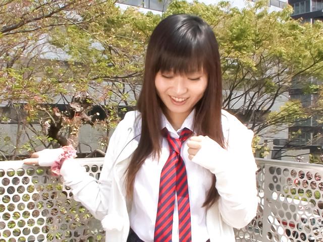 Ryo Asaka - Ryo Asaka arousing Asian teen takes a sensual shower - Picture 6