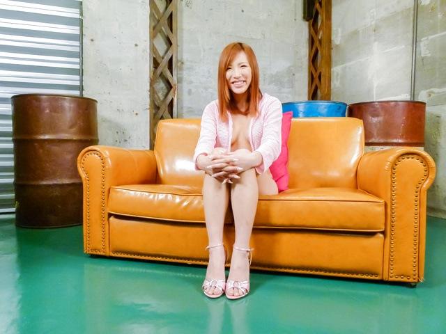 Yuika Akimoto - Hot asian amateur Yuika Akimoto fucked with a vibrator - Picture 3