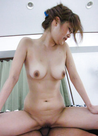Ibuki Akitsu Asian with stopper in asshole is fucked in dark slit
