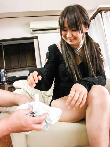 Morita Kurumi - 森田吴桃剃光和性交时亚洲肛门乐趣 - 图片 5