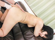 Saki Umita Asian gives good blowjob and has fish taco shaved