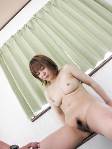 Kaho Kitayama - 令人讨厌的嘉穗北山接收纯亚洲肛门刺激 - 图片 5