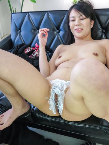 Saya Fujimoto - 日本徐娘半老,享受淘气的口头快乐 - 图片 9