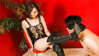 Aya Kisaki hot Japan milf with need for sucking cock