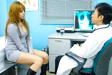 Japanese Pornstar Hatsuka Gets Fucked by Her Doctor