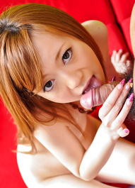 Mami Masaki Asian licks shlong and has nasty cooter licked by guy